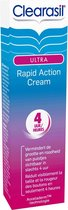 Clearasil Ultra Rapid Action Cream - Behandelingscreme - 2 x 15ml - Grootverpakking