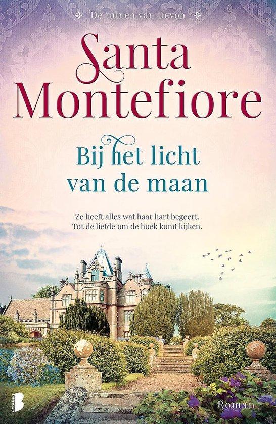 Boek cover De tuinen van Devon 1 -   Bij het licht van de maan van Santa Montefiore (Paperback)