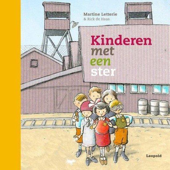 Boek cover Kinderen met een ster van Martine Letterie (Onbekend)