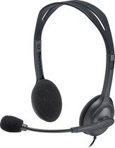 Logitech H111 - Stereo Headset - 3.5MM AUX - PC & Mac