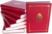 Sinterklaasboek met mijter (350 pagina)