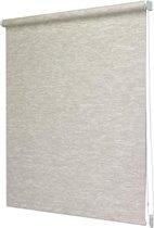 Intensions - Rolgordijn Lichtdoorlatend - Structuur - Natuur Creme - 90x190 cm