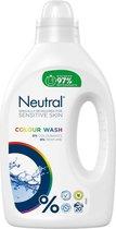 Neutral Vloeibaar Wasmiddel Kleur  - 6 x 20 wasbeurten - Voordeelverpakking