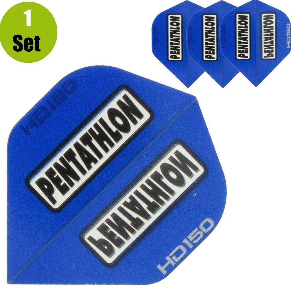 Pentathlon HD150 Dartflights - Blauw- ()