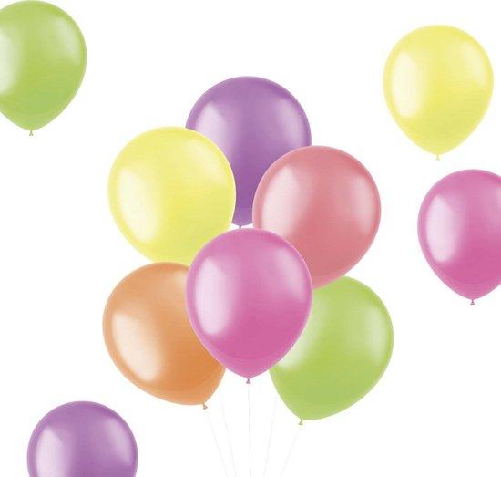 Gekleurde Ballonnen Neon 30cm 100st