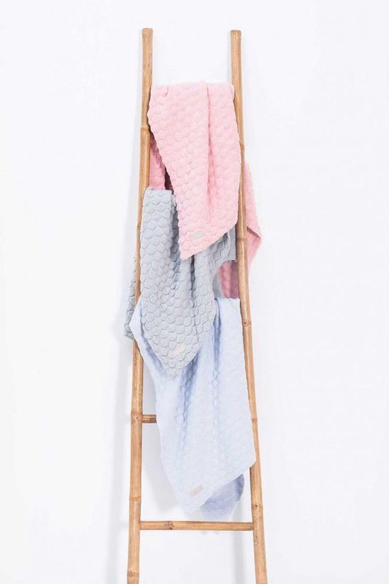 Jollein Fancy knit Deken 75x100cm blush pink