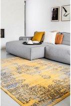 Vintage Vloerkleed Bloom - Geel - EVA Interior Afmetingen - 80 x 150