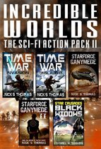 Incredible Worlds - The Sci Fi Action Pack II (5 Full Length Novels)