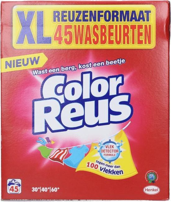 Color Reus Waspoeder Color - 45 wasbeurten