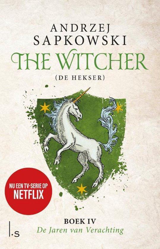 Boek cover The Witcher 4 - De Jaren van Verachting van Andrzej Sapkowski (Paperback)