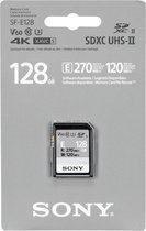 Sony sdxc e series 128gb uhs-ii class 10 u3 v60
