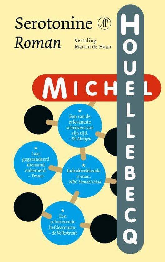 Boek cover Serotonine van Michel Houellebecq (Paperback)