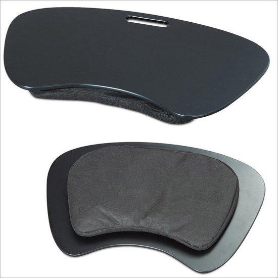 Onwijs bol.com   relaxdays Knietafel zwart - Laptoptafel 59x40x5 cm SW-01