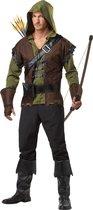 CALIFORNIA COSTUMES - Robin Hood kostuum voor heren - M - Volwassenen kostuums