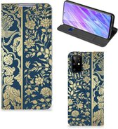 Samsung Galaxy S20 Plus Smart Cover Golden Flowers