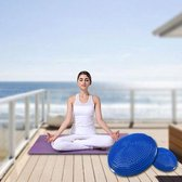 Thick Explosion-proof Yoga Special Massage Balance Cushion(Blue)