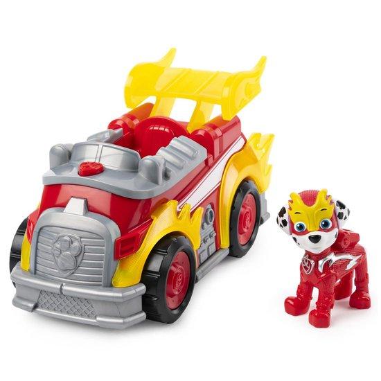 Afbeelding van PAW Patrol Mega Pups Super Paws Voertuig Marshall speelgoed