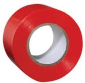 PVC tape rood 25mmx66mtr M250RE  (1  rol)