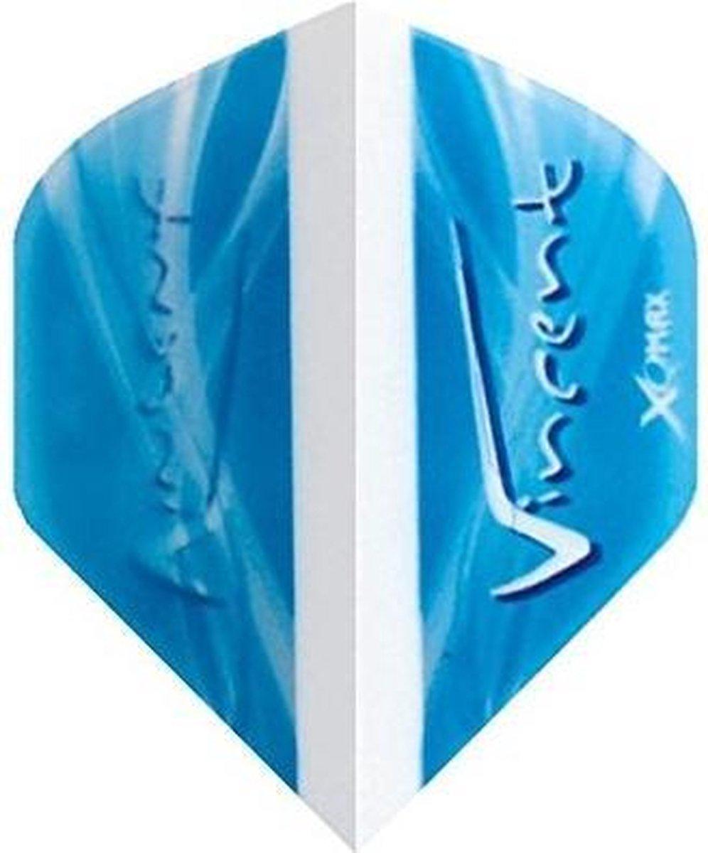Xq Max Flights Vincent Van Der Voort Blauw 3 Stuks