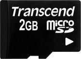 Transcend TS2GUSD 2GB MicroSD MLC flashgeheugen