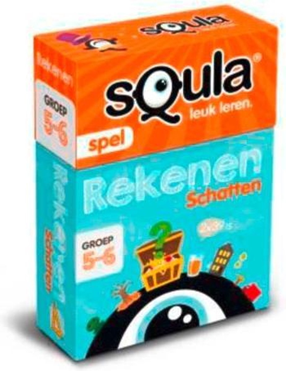 Identity Games Squla Rekenen Kaartspel