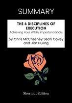 Boek cover SUMMARY - The 4 Disciplines of Execution: van Shortcut Edition