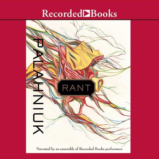 Boek cover Rant van Chuck Palahniuk (Onbekend)