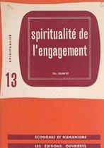 Omslag Spiritualité de l'engagement