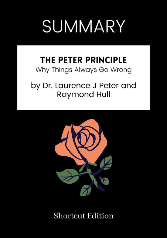 Boek cover SUMMARY - The Peter Principle: van Shortcut Edition (Onbekend)
