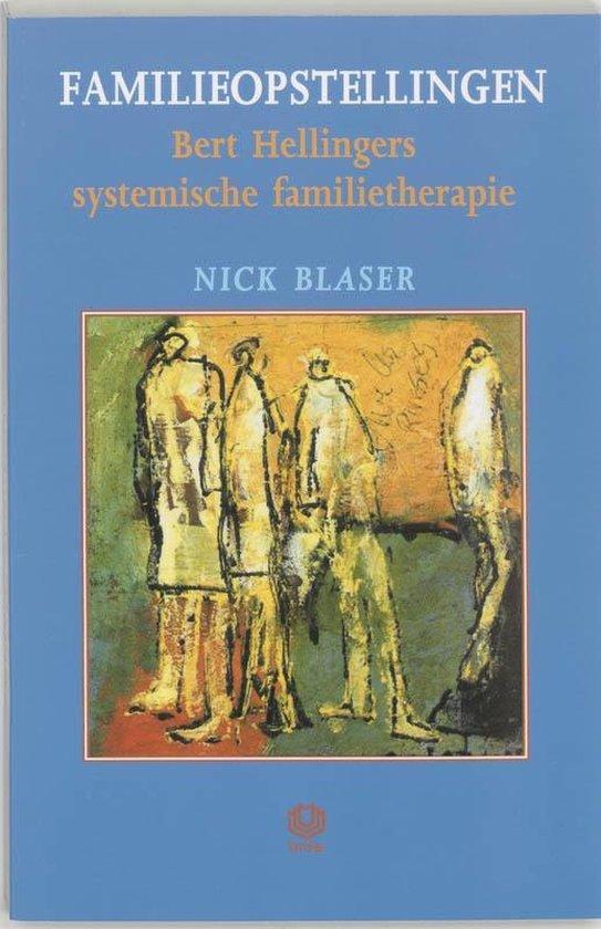 Boek cover Familieopstellingen van Nick Blaser