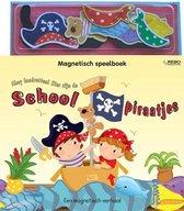 Magnetisch speelboek  -   Ahoy landrotten! hier zijn de schoolpiraatjes