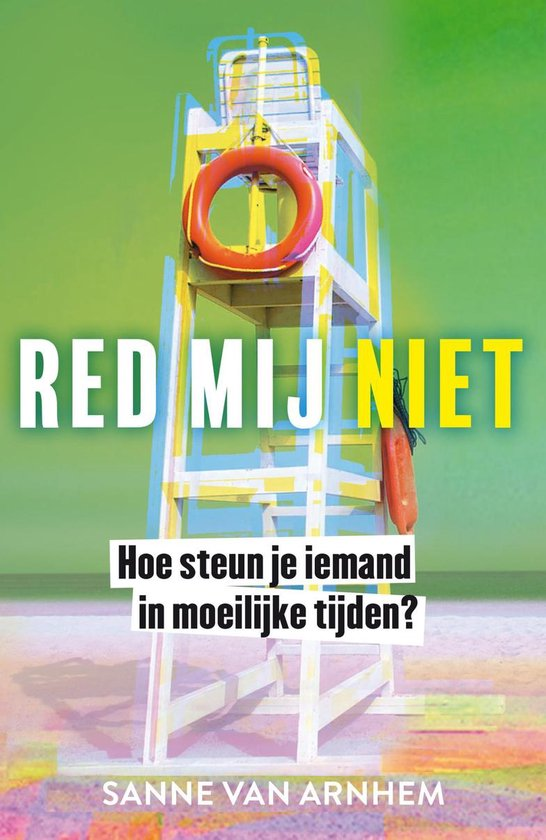 Boek cover Red mij niet van Sanne van Arnhem (Paperback)