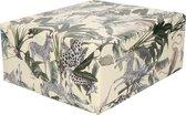 Inpakpapier/cadeaupapier jungle dieren zebra/giraffe design - 200 x 70 cm - kadopapier / cadeaupapier