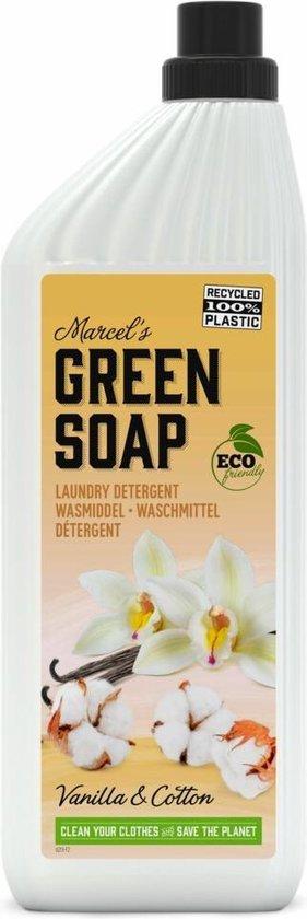 Marcel's Green Soap Wasmiddel Vanille & Katoen - 6 x 1 l