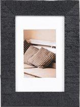 Fotolijst - Henzo - Driftwood - Fotomaat 10x15 cm - Donkergrijs