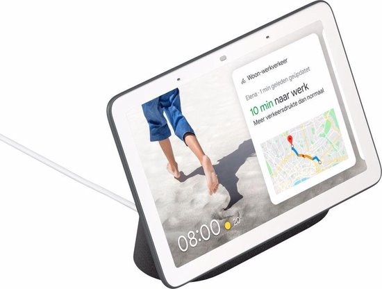 Google Nest Hub - Smart Speaker met scherm / Nederlandstalig - Antraciet