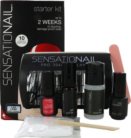 Sensationail Starter Kit - Scarlet Red