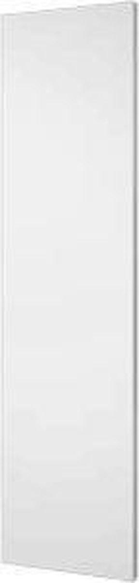 Plieger Perugia designradiator verticaal middenaansluiting 1806x456 mm 802 W, zwart grafiet (black graphite)