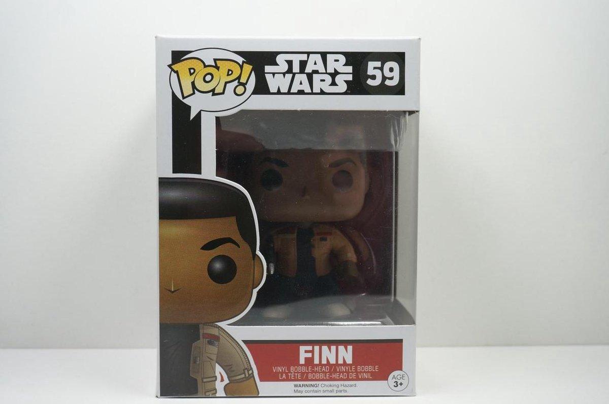 Pop Star Wars E7 Finn Vinyl Figure - Star Wars