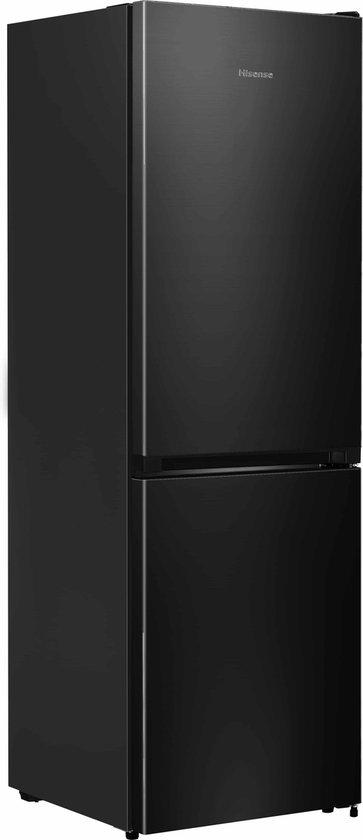 Koelkast: Hisense FCN312E30F - Koel-vriescombinatie - Black Steel look, van het merk Hisense