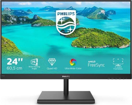 Philips 245E1S - QHD IPS Monitor - 24 inch