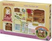 Sylvanian Families 5220 Klassieke Meubelset-Voor Heerlijk Huisje - Speelfigurenset