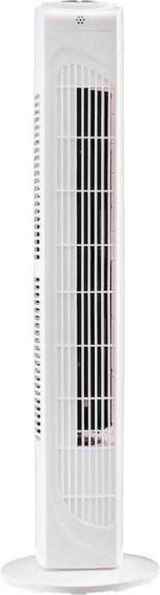 MEDION Torenventilator MD 10319 | 3 snelheden | 45 Watt vermogen | omschakelbare zwenkfunctie | incl. afstandsbediening