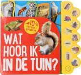 Kinderboeken Icob Prentenboek - Wat hoor ik in de tuin (geluidenboek)
