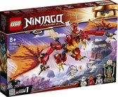 LEGO NINJAGO Legacy Vuurdraak Aanval - 71753