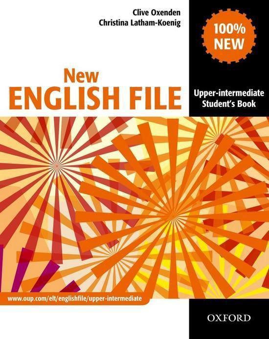 Boek cover NEF - Upp-Int students book van Clive Oxenden (Paperback)