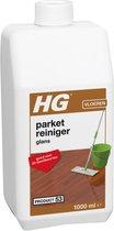 HG parketreiniger glans (product 53) - 1L - Geconcentreerde reiniger met glansherstel - voor 20 dweilbeurten