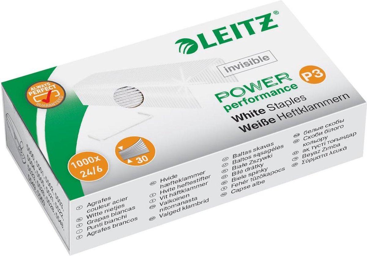 Leitz nietjes Wit 24/6 1000 stuks - Leitz