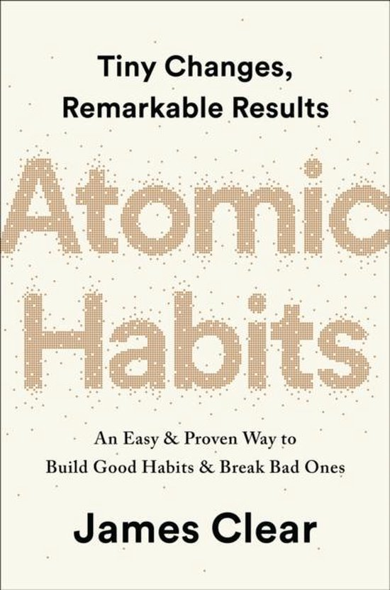 Boek cover Atomic Habits van James Clear (Paperback)