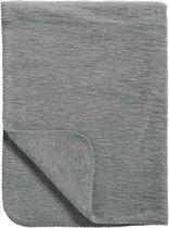 Meyco Uni wiegdeken - 75x100 cm - Grijs
